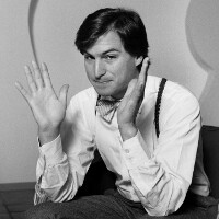 """1985 interview of Steve Jobs envisions """"nationwide communications network"""""""