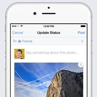 Facebook follows Google and adds auto enhancements to mobile photos (iOS now, Android later)