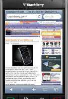 RIM to offer BlackBerry users a browser as good as the iPhone's Safari by next summer?