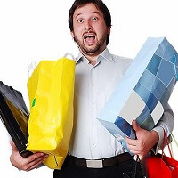 Shopaholic: Survey finds men use smartphones more for shopping and buying