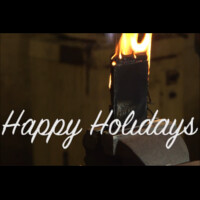 Watch a few phones be drilled, twisted, cut in half, and set on fire, all in the name of the holiday spirit