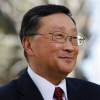 BlackBerry's John Chen is runner-up to Apple's Tim Cook for CNN's CEO of the Year