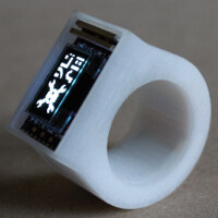 Ö smart ring tells you the time, alerts you to messages and more