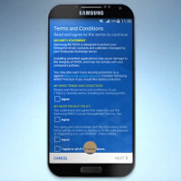 Samsung Galaxy S6 appears on KNOX video?