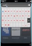 Palm Pre to get third-party developed virtual keyboard?