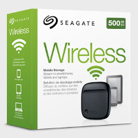 Seagate introduces a wireless 500GB cloud-based storage solution for smartphones and tablets