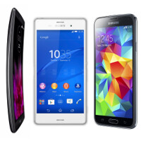 LG G Flex 2 vs Sony Xperia Z3 vs Samsung Galaxy S5: A specs comparison