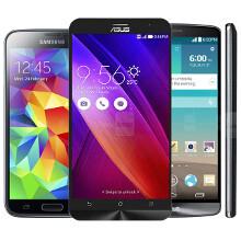 Asus ZenFone 2 vs Galaxy S5 vs LG G3 specs comparison