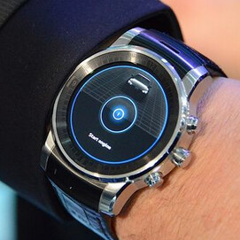 New LG smartwatch (with circular display) teased by Audi at CES 2015
