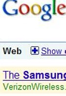 Verizon runs ad on Google for unannounced Samsung Rogue