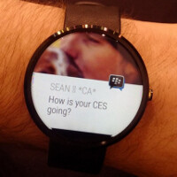 BBM is coming to Android Wear powered smartwatches early this year