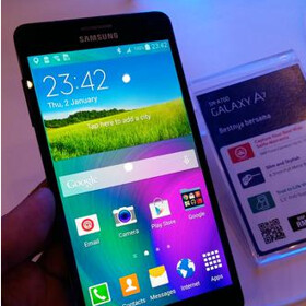 Samsung officially showcases the Galaxy A7, its thinnest smartphone ever