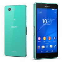 It's not easy being green says the Sony Xperia Z3 Compact
