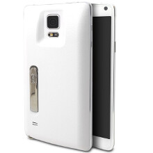 Mugen's extended battery case doubles the Note 4 endurance, and has a kickstand, too