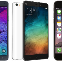 Best phablets: the chief Xiaomi Mi Note and Mi Note Pro competitors
