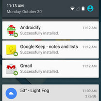 How to access and read dismissed notifications in Android