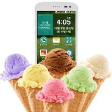 lg ice cream smart. the lg ice cream smart appears to be a future clamshell android smartphone lg