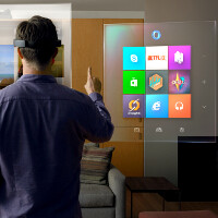 Microsost makes sci-fi reality with Windows Holographic and the HoloLens headgear