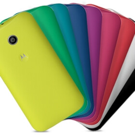 Motorola Moto E now comes with two free shells (US only)