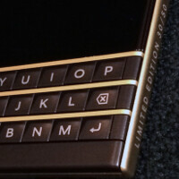 Check out these new photos of the Black and Gold BlackBerry Passport