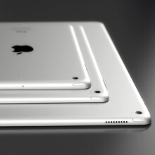 """Upcoming 12"""" iPad Pro gets drawn in beautiful 3D renders, rumored stylus in tow"""