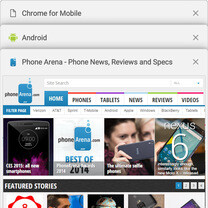 How to remove Chrome tabs from your recent apps list (Android 5.0 Lollipop guide)