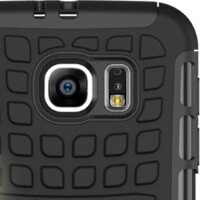 Leaked case suggests new camera flash and heart rate sensor placement for the Samsung Galaxy S6
