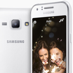 Samsung officially presents the Galaxy J1, its first J series smartphone
