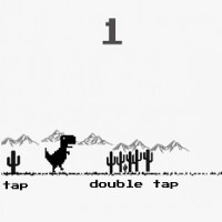 Chrome browser's hidden dinosaur game is now available on the Play Store