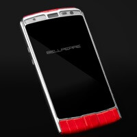 Eat your heart out, Apple - the Bellperre Touch smartphone has a 4.9-inch sapphire crystal screen, touch-thru-leather tech