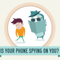 Is your smartphone spying on you? (Infographic)
