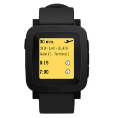 Pebble's new smartwatch leaks revealing color screen and smaller buttons