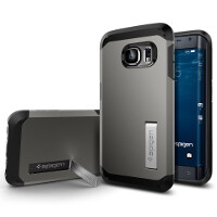 Spigen launches cases for the Galaxy S6 Edge, depicts just one curved side
