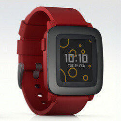 New Pebble Time smartwatch unveiled on Kickstarter, storms ...