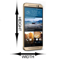HTC One M9 size comparison: this is how it stacks up to the competition