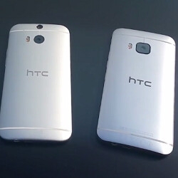 HTC One M9 hands-on video leaks, shows it next to the M8