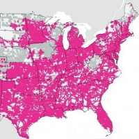 What T-Mobile\'s coverage map should look like at the end of the year