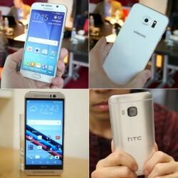 HTC One M9 vs Samsung Galaxy S6: in-depth specs comparison