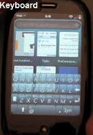 Palm Pre third party virtual QWERTY now ready