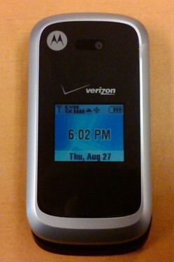Live images and videos of the Motorola Entice W766