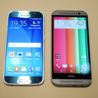 Samsung Galaxy S6 vs HTC One M8: first look
