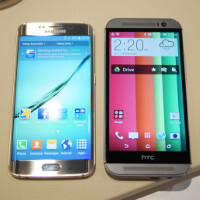 Samsung Galaxy S6 edge versus HTC One M8: first look