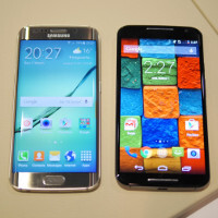 Samsung Galaxy S6 edge vs Motorola Moto X (2014): first look
