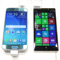 Samsung Galaxy S6 versus Nokia Lumia 930: first look