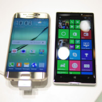 Samsung Galaxy S6 edge versus Nokia Lumia 930: first look