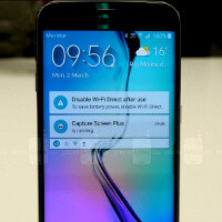 Samsung Galaxy S6 edge: new TouchWiz interface in images