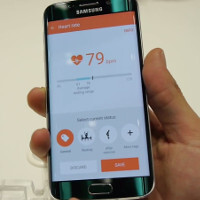 Samsung Galaxy S6 Edge Feature Showcase The Re Imagined S Health App
