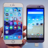 HTC One M9 versus Apple iPhone 6 Plus: first look