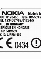 Nokia's Alvin RM-559 visits the FCC carrying 32GB of internal memory