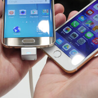 Samsung Galaxy S6 fingerprint scanner vs Apple iPhone 6 TouchID